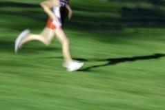 τρέξιμο φυλών Στοκ εικόνα με δικαίωμα ελεύθερης χρήσης