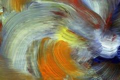 τρέξιμο χειροτεχνίας χρωμάτων Στοκ Εικόνα