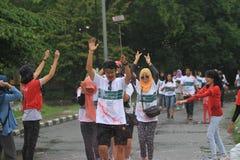 Τρέξιμο χρώματος Στοκ Φωτογραφία