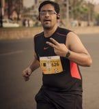 Τρέξιμο όλου του τρόπου! Στοκ Εικόνες