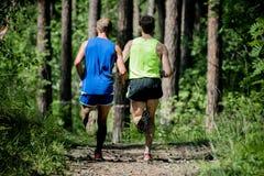 Τρέξιμο δύο ατόμων Στοκ εικόνες με δικαίωμα ελεύθερης χρήσης