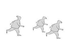 Τρέξιμο! Στοκ φωτογραφίες με δικαίωμα ελεύθερης χρήσης