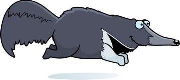 Τρέξιμο Anteater κινούμενων σχεδίων απεικόνιση αποθεμάτων