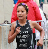 Τρέξιμο Kuramoto Aoi Στοκ εικόνα με δικαίωμα ελεύθερης χρήσης