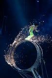 τρέξιμο stuntman στοκ φωτογραφία με δικαίωμα ελεύθερης χρήσης