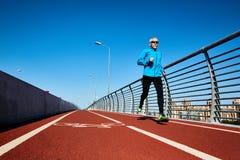 Τρέξιμο workout Στοκ εικόνα με δικαίωμα ελεύθερης χρήσης