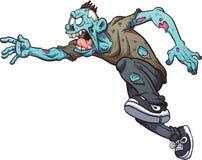 Τρέξιμο zombie Ελεύθερη απεικόνιση δικαιώματος