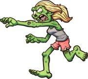 Τρέξιμο zombie Απεικόνιση αποθεμάτων