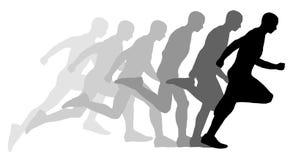 Τρέχοντας άτομο απεικόνιση αποθεμάτων