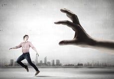 Τρέχοντας άτομο Στοκ Εικόνα