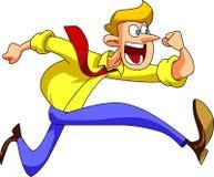 Τρέχοντας άτομο Στοκ φωτογραφία με δικαίωμα ελεύθερης χρήσης