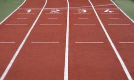τρέχοντας έναρξη γραμμών Στοκ Εικόνες