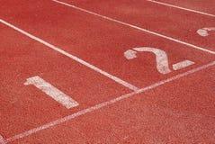 τρέχοντας αρχική διαδρομή & Στοκ Φωτογραφία