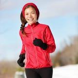 Τρέχοντας γυναίκα ικανότητας στοκ φωτογραφία με δικαίωμα ελεύθερης χρήσης