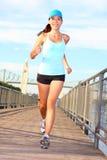 τρέχοντας γυναίκα Στοκ εικόνα με δικαίωμα ελεύθερης χρήσης