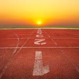 τρέχοντας διαδρομή ηλιο&beta Στοκ Εικόνες