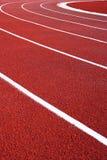 τρέχοντας διαδρομή καμπυ&l Στοκ φωτογραφίες με δικαίωμα ελεύθερης χρήσης