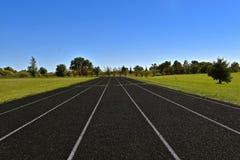 Τρέχοντας διαδρομή πέντε παρόδων Στοκ Εικόνες