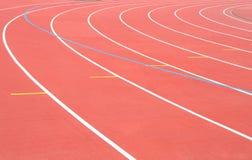 τρέχοντας διαδρομή σταδίων Στοκ εικόνες με δικαίωμα ελεύθερης χρήσης