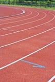 τρέχοντας διαδρομή Στοκ εικόνα με δικαίωμα ελεύθερης χρήσης