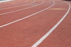 τρέχοντας διαδρομή Στοκ φωτογραφία με δικαίωμα ελεύθερης χρήσης