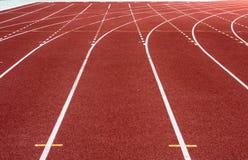 τρέχοντας διαδρομή σταδίων Στοκ φωτογραφία με δικαίωμα ελεύθερης χρήσης