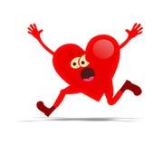 Τρέχοντας καρδιά Στοκ Εικόνες