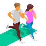 Τρέχοντας κορίτσι αγοριών Στοκ φωτογραφία με δικαίωμα ελεύθερης χρήσης