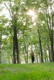 Τρέχοντας κορίτσι Στοκ εικόνα με δικαίωμα ελεύθερης χρήσης