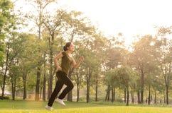 Τρέχοντας κορίτσι Στοκ Εικόνα