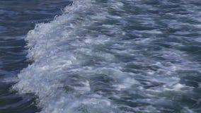 τρέχοντας κύμα Η θάλασσα, Κύπρος απόθεμα βίντεο