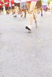 Τρέχοντας μαραθώνιος Στοκ Φωτογραφίες