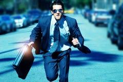 τρέχοντας νεολαίες ατόμω Στοκ Εικόνες