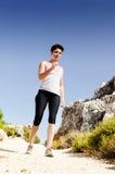 τρέχοντας νεολαίες γυν&alp Στοκ εικόνες με δικαίωμα ελεύθερης χρήσης
