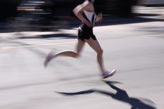 τρέχοντας οδός στοκ εικόνα με δικαίωμα ελεύθερης χρήσης