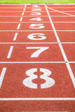 Τρέχοντας πίστα αγώνων Στοκ εικόνες με δικαίωμα ελεύθερης χρήσης