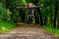 Τρέχοντας παιδί Στοκ εικόνες με δικαίωμα ελεύθερης χρήσης