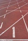 τρέχοντας πανεπιστήμιο δι Στοκ Φωτογραφίες