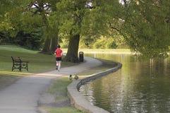 τρέχοντας πρεσβύτερος Στοκ εικόνες με δικαίωμα ελεύθερης χρήσης