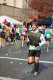 Τρέχοντας ρωμαϊκός στρατιώτης στοκ εικόνες με δικαίωμα ελεύθερης χρήσης