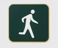 τρέχοντας σημάδι μονοπατιώ Στοκ φωτογραφίες με δικαίωμα ελεύθερης χρήσης