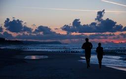 τρέχοντας σκιαγραφία ζε&upsi στοκ φωτογραφίες με δικαίωμα ελεύθερης χρήσης