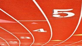 τρέχοντας συνθετική μοναδική όψη διαδρομής Στοκ Φωτογραφίες