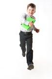 τρέχοντας σχολείο στοκ εικόνα με δικαίωμα ελεύθερης χρήσης