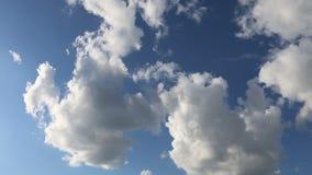Τρέχοντας σύννεφα απόθεμα βίντεο
