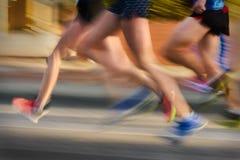 Τρέχοντας φυλή Στοκ φωτογραφίες με δικαίωμα ελεύθερης χρήσης