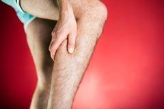 Τρέχοντας φυσική ζημία, πόνος ποδιών στοκ φωτογραφίες με δικαίωμα ελεύθερης χρήσης