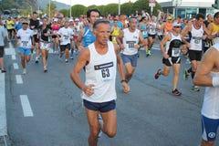 Τρέχοντας φυλή μαραθωνίου Στοκ Εικόνα