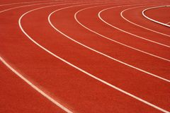 τρέχοντας διαδρομή Στοκ Φωτογραφίες