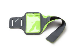 τρέχοντας armband για το smartphone Στοκ φωτογραφία με δικαίωμα ελεύθερης χρήσης